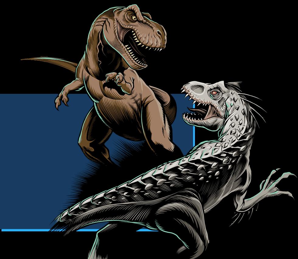 Camisetas Jurassic World